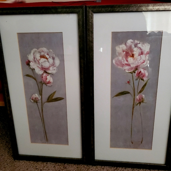 Hand Painted Poster Set (Set of 2)